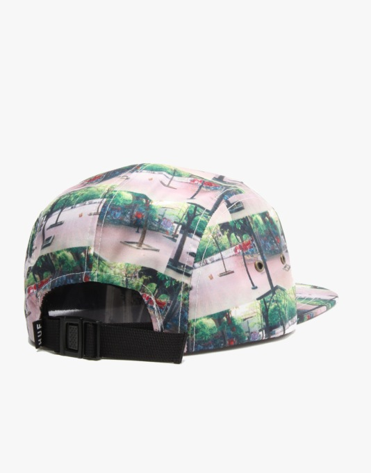 HUF Spots Volley 5 Panel Cap - Banks