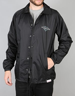 Diamond Supply Co. Brilliant Coach Jacket - Black
