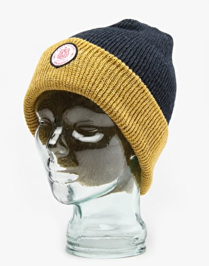 Spacecraft Easy Tiger Beanie - Mustard