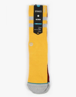 Stance x Andrew Reynolds Cosby Socks - Yellow