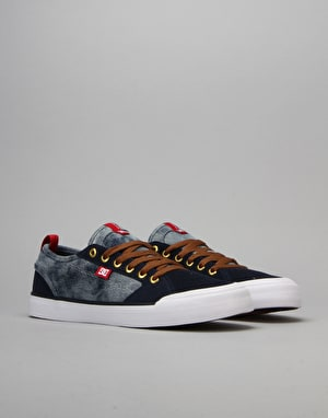 DC Evan Smith S Skate Shoes - Bleach