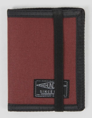 The Hundreds Murky Bi-Fold Wallet - Maroon
