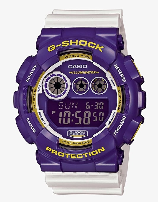 G-Shock GD-120CS-6 Watch - Crazy Sports Blue