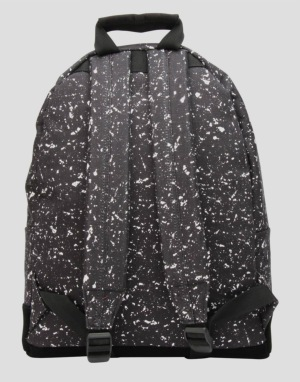 Mi-Pac Splattered Backpack - Black/White