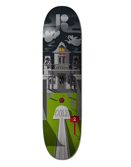 Plan B Cole Haunted House Pro.Spec Pro Deck - 8""