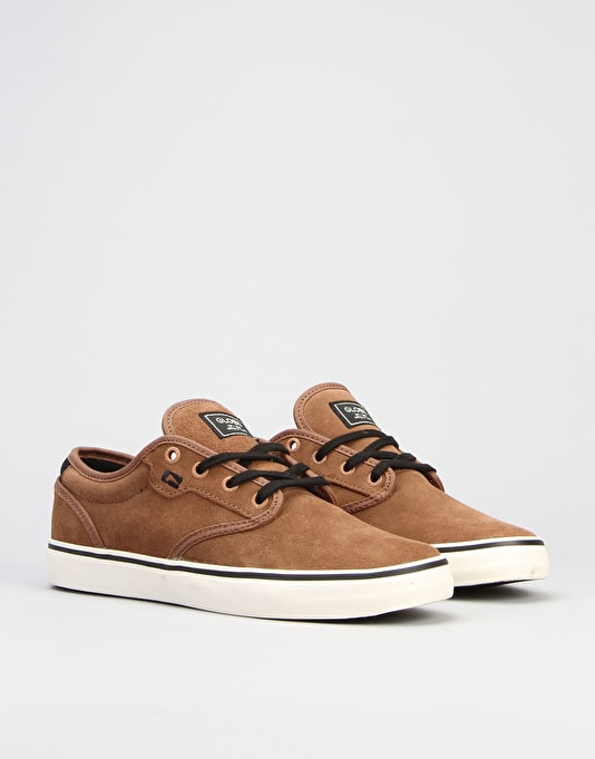 Globe Motley Skate Shoes - Tobacco/Antique