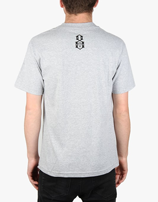 Rebel8 Mecca T-Shirt - Heather Grey