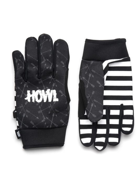 Howl Alder 2016 Snowboard Gloves - Black