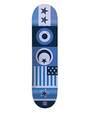 Chocolate Berle Flags Pro Deck - 8.125