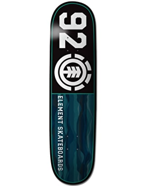 Element 92 Landlines Featherlight Team Deck - 8.25