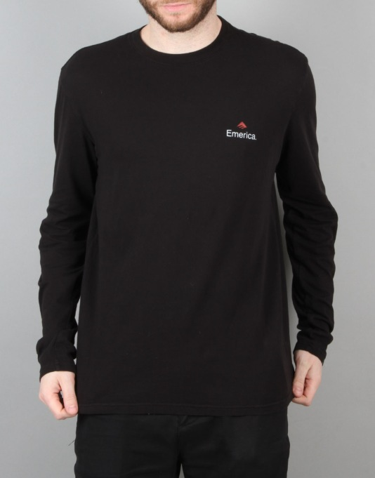 Emerica x Independent L/S T-Shirt - Black