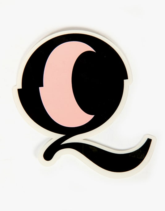 Quasi Q Eye Die Cut Sticker