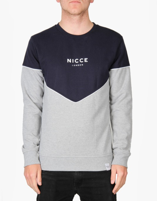 Nicce Diamond Sweatshirt - Navy