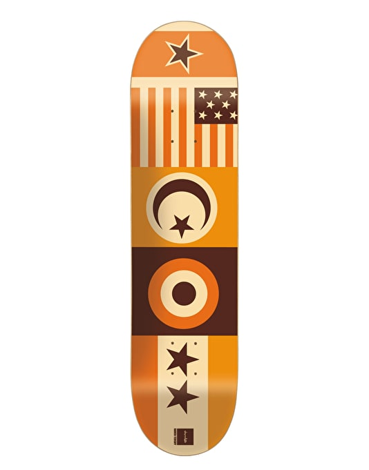 Chocolate Tershy Flags Skateboard Deck - 8.375""