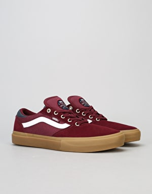 Vans Gilbert Crockett Pro Skate Shoes - Port Royale/Gum