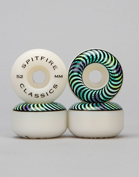 Spitfire Classic Floral Fill Team Wheel - 52mm