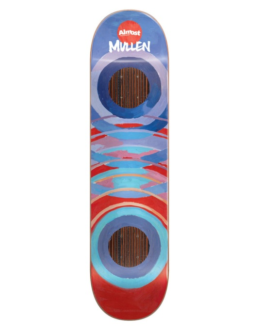 Almost x B.Lotti Mullen Painted Rings Impact Support Pro Deck - 7.75""