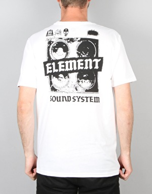 Element Soundsystem SS T-Shirt - Optic White A