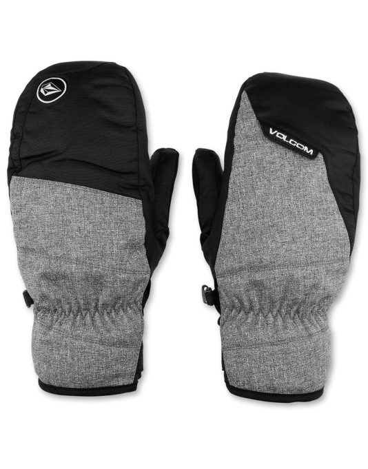 Volcom Stay Dry 2016 Snowboard Mitts - Heather Grey