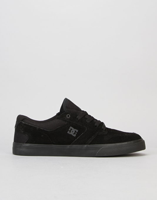 DC Nyjah Vulc Skate Shoes - Black/Black