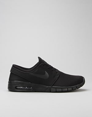 Nike SB Stefan Janoski Max Shoes - Black/Black-Anthracite-Black