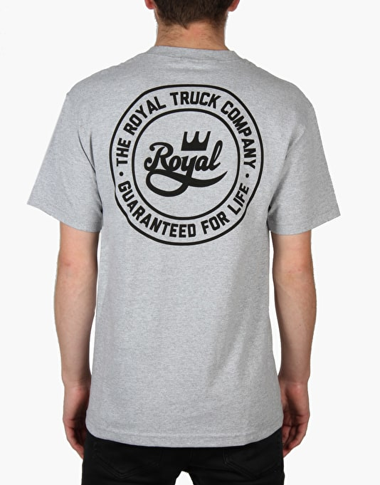 Royal Guaranteed For Life T-Shirt - Athletic Heather