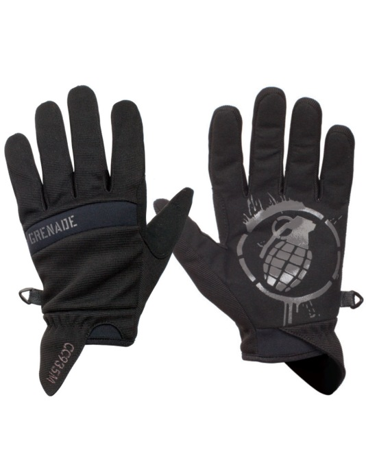 Grenade CC935 2016 Snowboard Gloves - Black