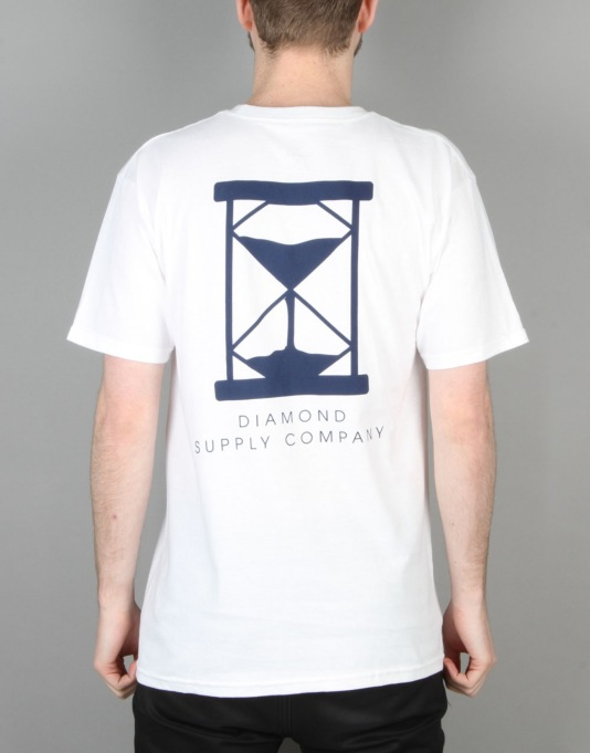 Diamond Supply Co. Hourglass T-Shirt - White