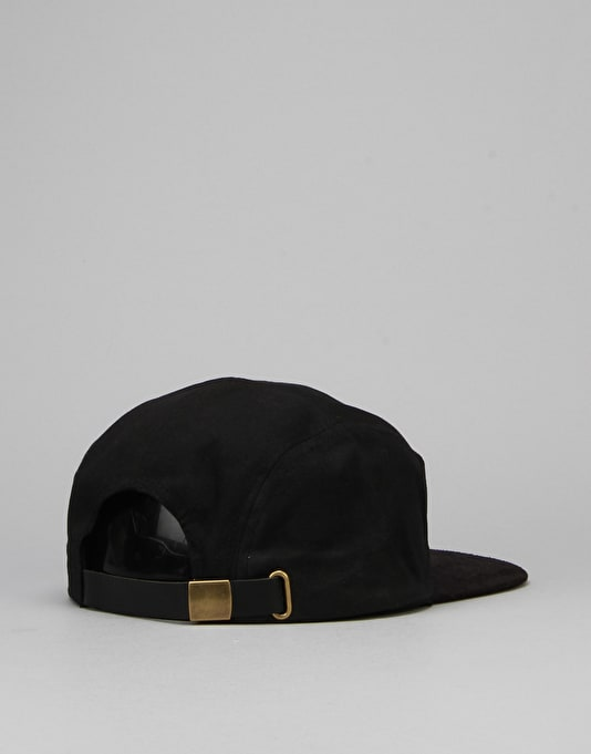 Brixton Hoover 5 Panel Cap - Black/Black