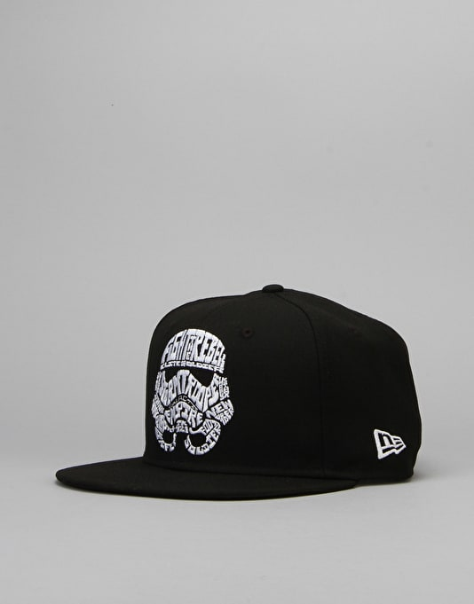 New Era x Star Wars Word Character Snapback Cap - Storm Trooper