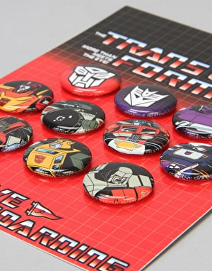 Primitive x Transformers Button Set