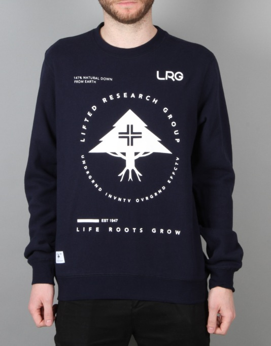 LRG Research Collection Crewneck - Navy