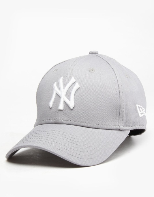 new era 9forty mlb new york yankees cap grey white dad. Black Bedroom Furniture Sets. Home Design Ideas