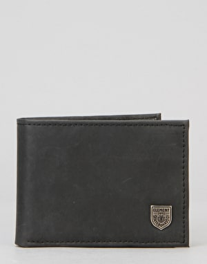 Element Segur Leather Wallet - Black