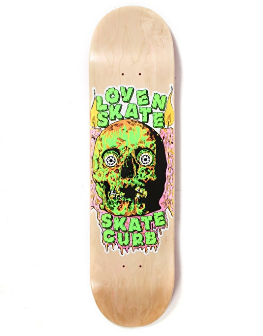 Lovenskate Skate Curb Team Deck - 8.125""