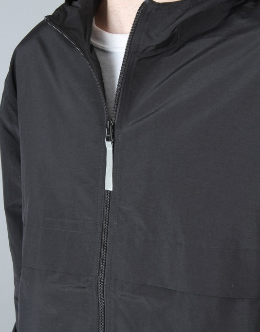 Stüssy Light Nylon Full Zip Jacket - Black