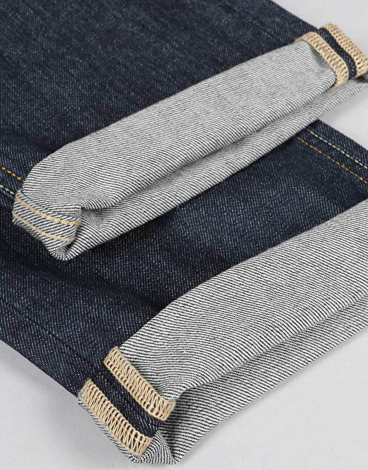 DC Washed Straight Jeans - Dark Stone Rigid