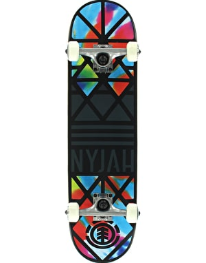 Element Nyjah Crown Tie Dye Twig Complete - 7.625