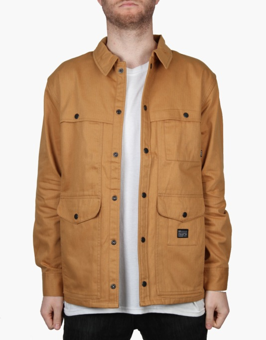 HUF Caliber Hunting Jacket - Tan