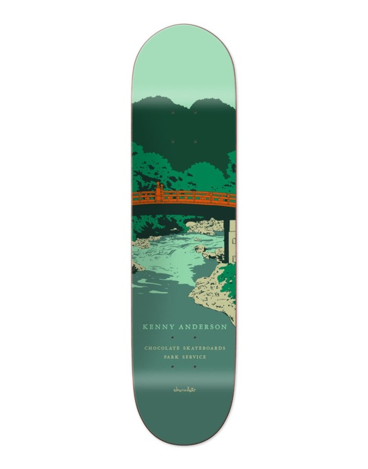 Chocolate Anderson Park Service Pro Deck - 8.125""