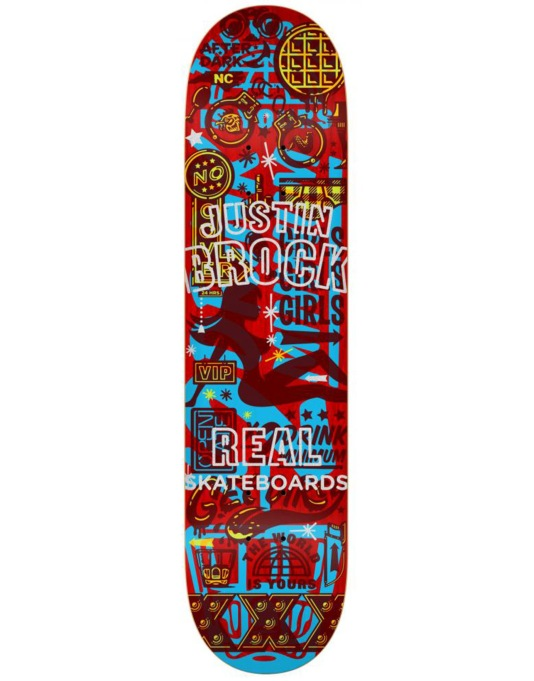 Real Brock Overlay Pro Deck - 8.5""