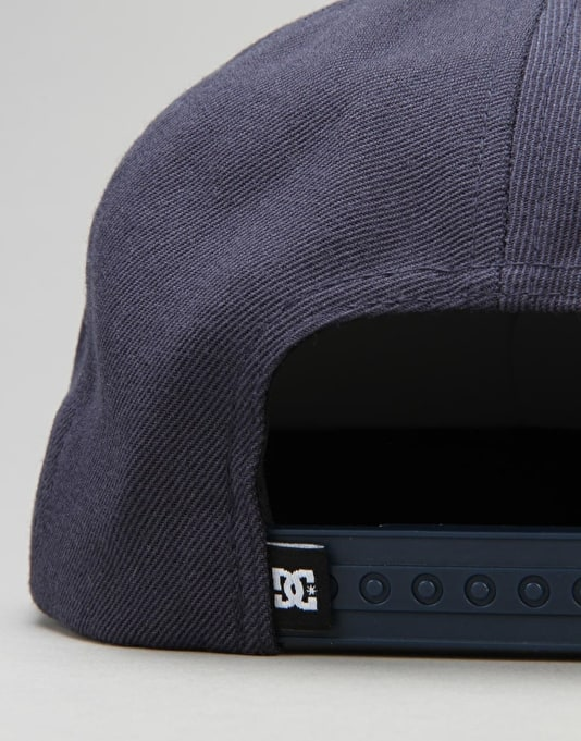 DC Outthere 6 Panel Cap - Blue Iris