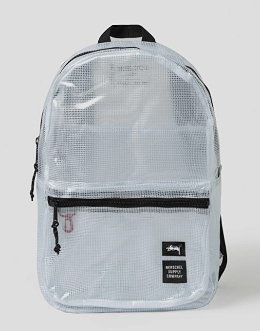 Stüssy x Herschel Supply Co. Tarpaulin Lawson Backpack - Clear   Sale    Clearance   Cheap Skate Clothing, Footwear   Hardware   Route One 1bfce760c8