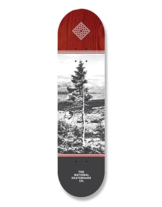 The National Skateboard Co. Delarna Team Deck - 8.25""