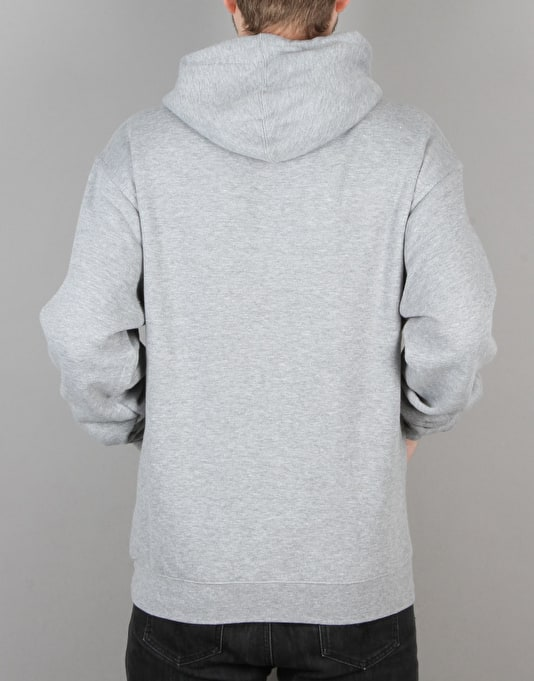 Enjoi Panda Logo Midweight Pullover Hoodie - Heather Grey