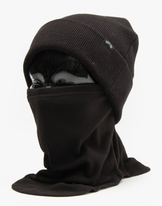 Spacecraft Frost Fleece Gaiter Facemask - Black