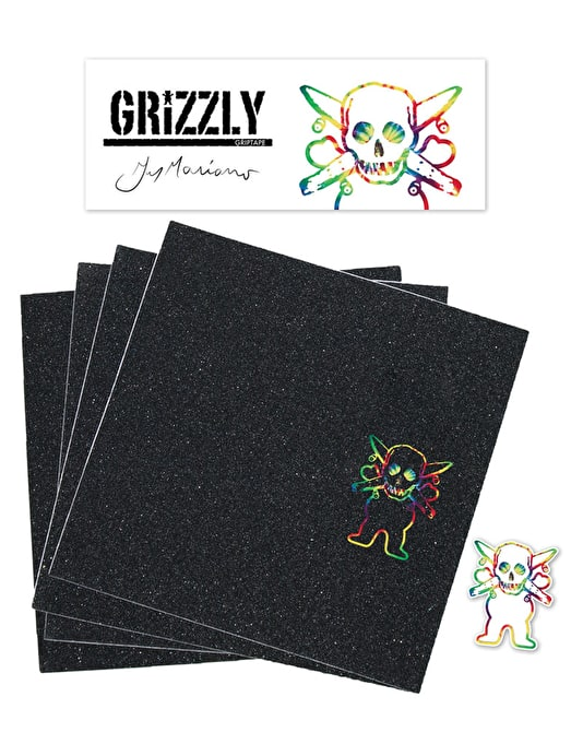 "Grizzly x Fourstar Mariano Pro 9"" Grip Tape Sheet"