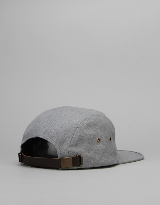 HUF Tonal Linen Volley 5 Panel Cap - Slate