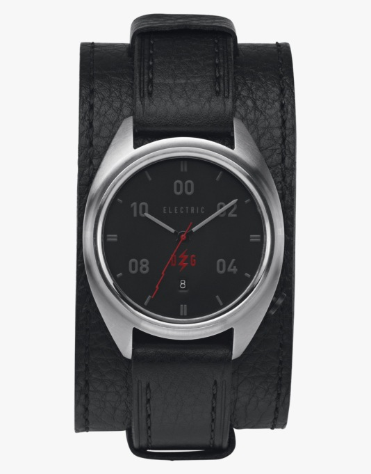 Electric OW01 'David G' Watch - Black Leather