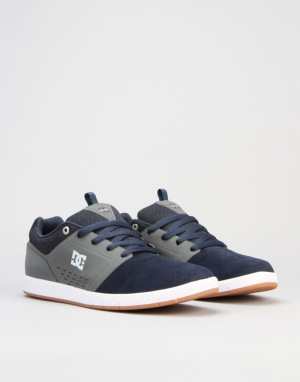 DC Cole Signature Skate Shoes - Navy